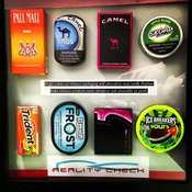 Tobacco products compared to candy products