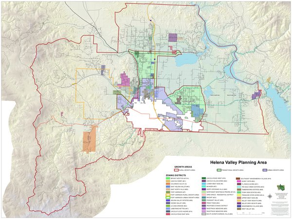 Helena Valley Planning Area Zoning