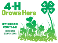 Lewis & Clark County 4-H Fair Logo and Link